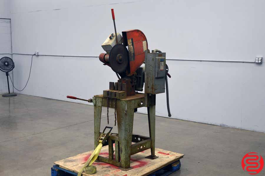 Toledo-Beaver Speed Cut No. 14 Abrasive Cut-Off Machine