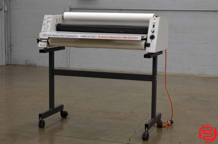 "USI ECONO 4000 CRL 40"" Hot Roll Laminator"