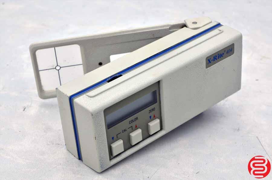 X-Rite 404 Color Reflection Densitometer