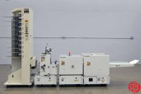 CP Bourg BST 10 10 Bin Booklet Making System w/ Stitcher, Folder, and Trimmer