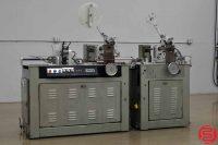 Kirk Rudy KR215 Inkjet Base Variable Packaging System w/ KR219 Roller Registration Score Folding System