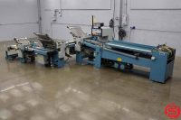 MBO B26 Continuous Feed Paper Folder w/ 8 Page Unit, 16 Page Unit and Mobile Delivery