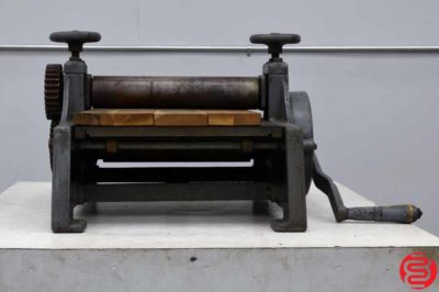 Nolan Machinery Speed Line Table Top Proof Press