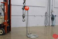 CM Cyclone 10 Ton Chain Hoist - 646 Series - 20 FT Lift - Qty 11