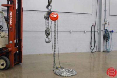 CM Cyclone 10 Ton Chain Hoist - 646 Series - 20 FT Lift - Qty 11