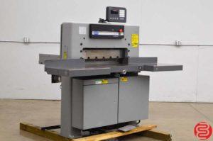 "Challenge 305 MC 30.5"" Hydraulic Programmable Paper Cutter w/ Microcut Jr"
