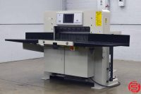 "Challenge Champion 370 TC 37"" Hydraulic Programmable Paper Cutter w/ Air Table, and Touch Screen"