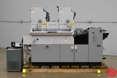 Hamada H234C Two Color Offset Printing Press