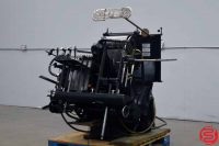 Letterpress Description Once the workhorse of print shops all across the world, the Heidelberg company's definitive fully automatic platen press