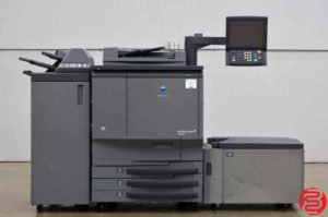 2008 Konica Minolta Bizhub Pro C6500 Color Digital Press w/ High Capacity Tray, and Finisher