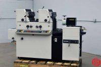 Ryobi 3302M Two Color Offset Printing Press