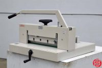 "1991 Triumph Ideal 4700 18"" Hydraulic Paper Cutter"