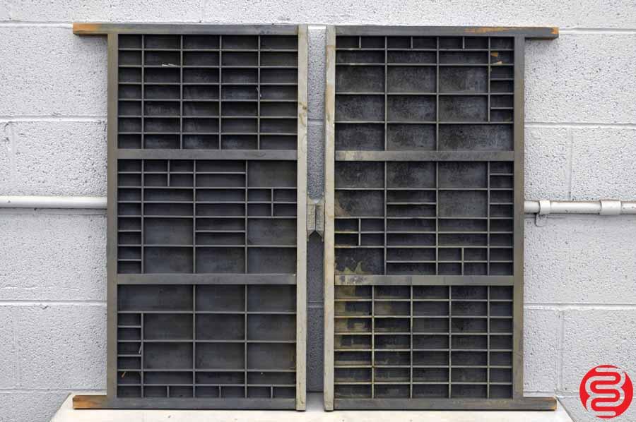 Hamilton Letterpress Type Cabinet - 18 Drawers | Boggs ...