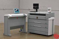 Oce TDS 700 Monochrome Wide Format Printer w/ Oce TDS 600 Wide Format Scanner