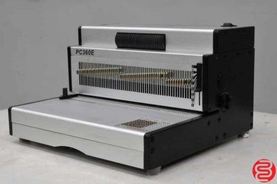 PC360E Heavy Duty Electric Coil Binding Machine