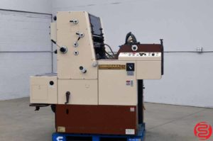 Shinohara 52 Single Color Offset 20 1/2 x 14 3/16 Printing Press