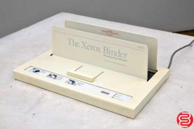 The Xerox Production Binder 5000