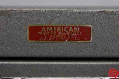 American Printing Cabinet