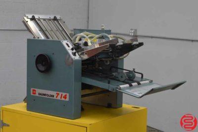 Baum 714 Ultrafold Vacuum Feed Paper Folder