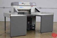 "2001 Baumcut 31.5"" Hydraulic Programmable Paper Cutter w/ Air Table and Safety Lights"