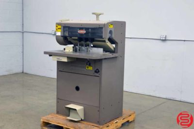Challenge MS 10A Three Spindle Hydraulic Paper Drill with Adjustable Back Gauge - Expandable up to 10 Spindles
