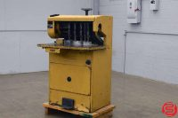 Challenge MS 10A Five Spindle Hydraulic Paper Drill with Adjustable Back Gauge - Expandable up to 10 Spindles