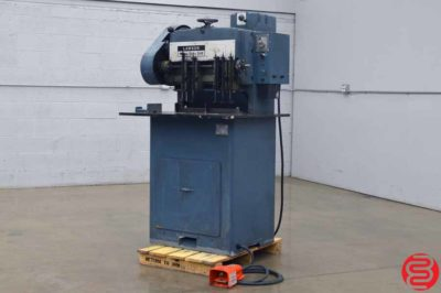 Dexter Lawson B3 Super Duty Multi Spindle Hydraulic Paper Drill - Expandable up to 10 Spindles