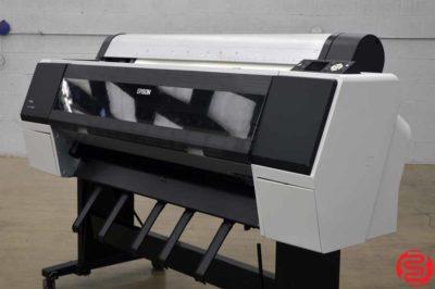 "2012 Epson Stylus Pro 9890 44"" Wide Format Printer"