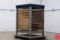 Hamilton Letterpress Cabinet w/ Composing Stone