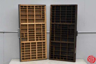 Hamilton Letterpress Type Cabinet - 24 Drawer