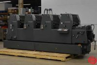 1995 Heidelberg GOTV 52 Four Color Offset Printing Press