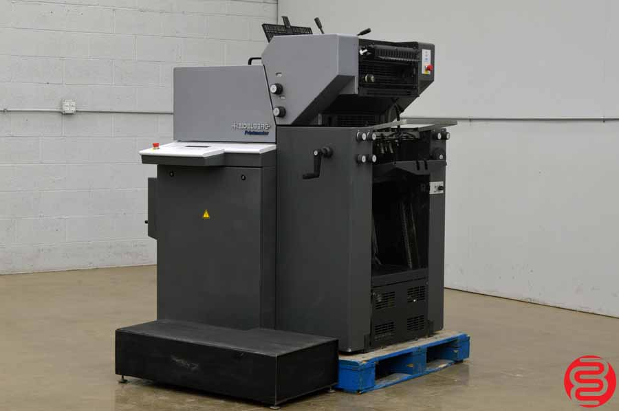 2007 heidelberg printmaster qm 46 2 two color printing press boggs equipment. Black Bedroom Furniture Sets. Home Design Ideas
