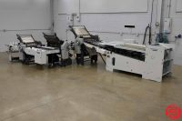 Heidelberg Stahlfolder B30 Continuous Feed Paper Folder w/ 8 Page Unit, 16 Page Unit, and Mobile Delivery