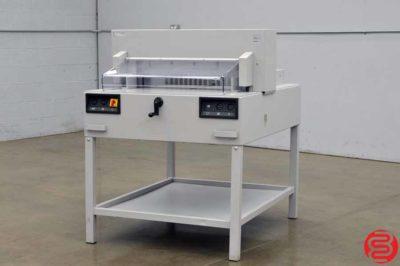 MBM Triumph 6550 Power Cut & Clamp Paper Cutter