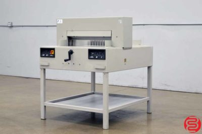 MBM Triumph 6550 Power Cut & Clamp Paper Cutter