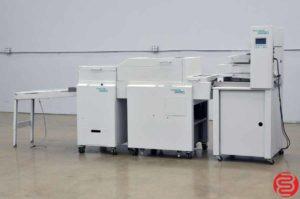 Nagel Foldnak 100 Booklet Making System w/ Robo Feeder, Trimmer, and Delivery Conveyor
