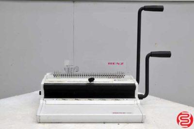 Renz Combi Plastic Comb Binding Machine