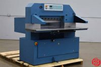 """1999 Schneider Senator 78 30"""" Programmable Paper Cutter w/ Safety Lights and Air Table"""