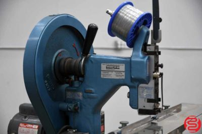Acme Interlake Model A Flat Book / Saddle Stitcher - 022719090731