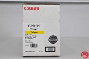 Canon GPR-11 Yellow Toner - Qty 7 - 022219101508