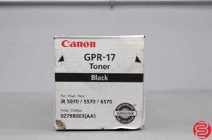 Canon GPR-17 Black Toner - 022219101602