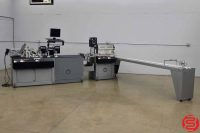 Kirk Rudy WaveJet Inkjet Addressing System w/ Feeder and Delivery Conveyor