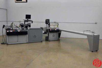 Kirk Rudy WaveJet Inkjet Addressing System w/ Feeder and Delivery Conveyor