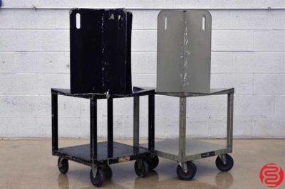 Martin Yale Paper / Bindery Cart - Qty 2