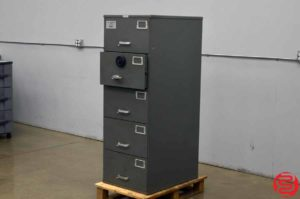 Mosler Five Drawer Security Container - 020919033547