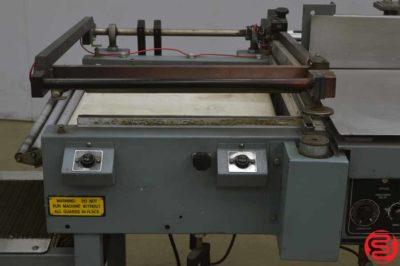 Shanklin S23C Automatic Shrink Wrap System w/ Magnetic Hold Down and Power Take Away - 021219013601