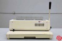 Tamerica TCC-210EPB Plastic Comb Electric Punch and Manual Bind - 022319110048