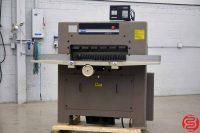 "Challenge 305 MC 30.5"" Hydraulic Programmable Paper Cutter w/ Microcut Jr - 030819013806"