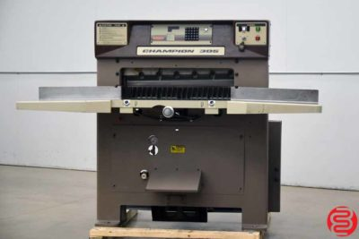 Challenge Champion 305 MPC Hydraulic Programmable Paper Cutter - 030819054600