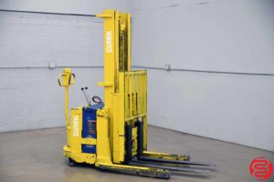 Clark Model SP30 Walk Behind Electric Fork Lift Straddle Stacker - 031219104432